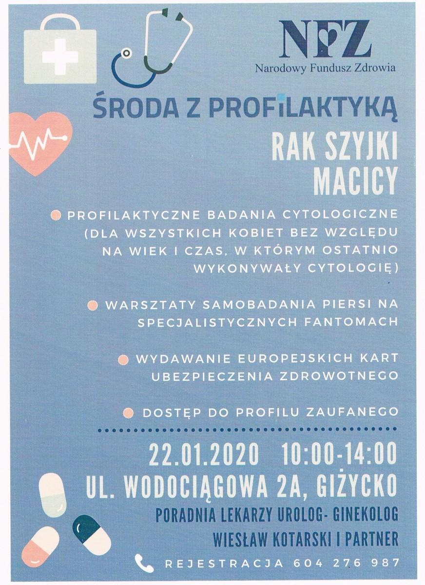 zdjęcie - plakat środa z profilaktyką