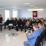 narada roczna w Komendzie Powiatowej PSP