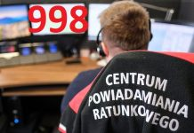zdjęcie dyspozytor centrum powiadamiania ratunkowego