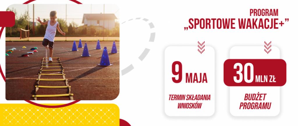 logo programu sportowe wakacje 2021