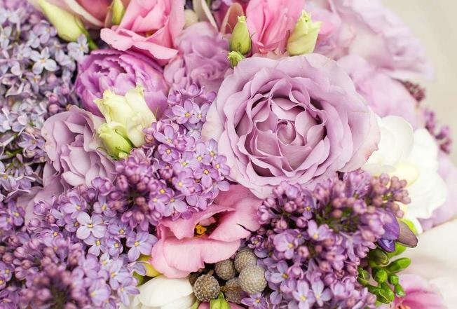 zdjęcie - bukiet kwiatów