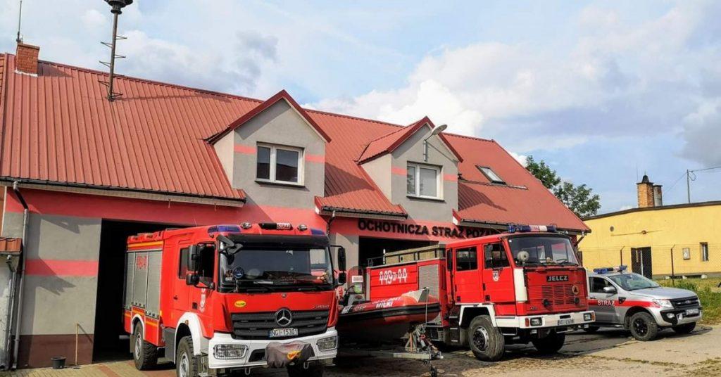 zdjęcie ochotnicza straż pożarna w miłkach