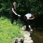 Badanie jakości wód rzeki Sapiny w I LO