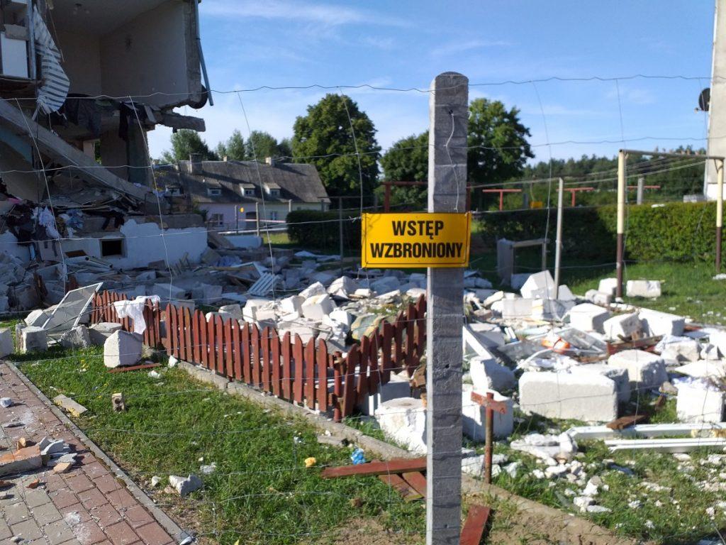 zdjęcia pomoc dla poszkodowanych Safronka